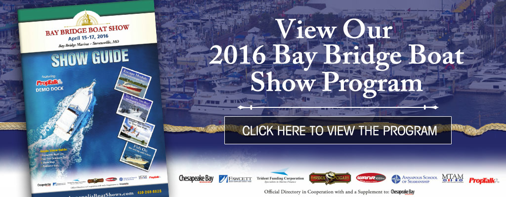 2016 Bay Bridge Boat Show Program