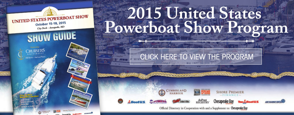 2015 United States Powerboat Show Program