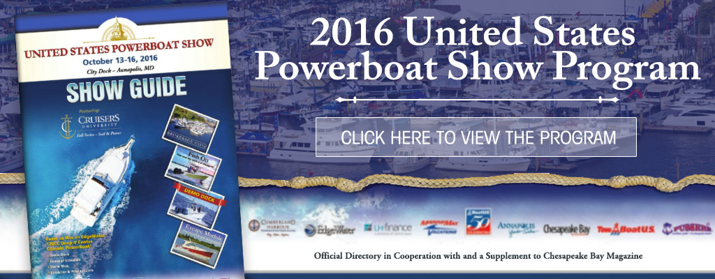 Powerboat Show Program