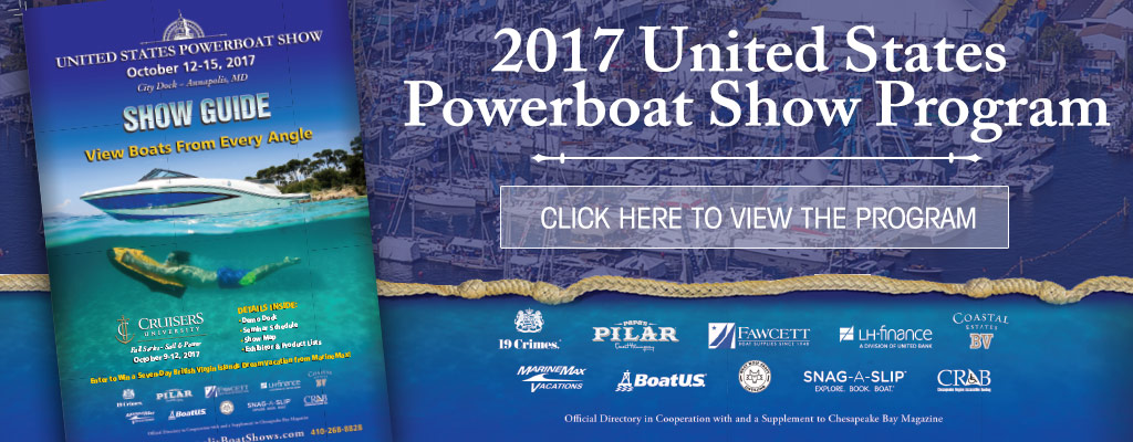 United States Powerboat Show Program