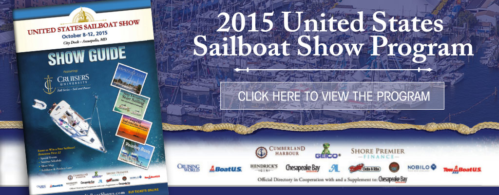 2015 United States Sailboat Show Program