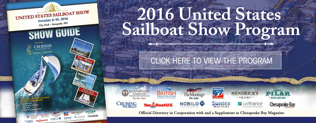 Sailboat Show Program