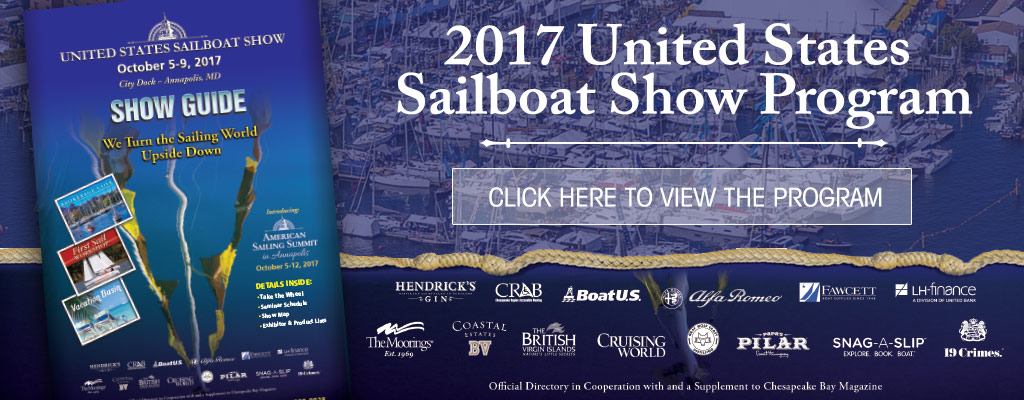 United States Annapolis Sailboat Show Program