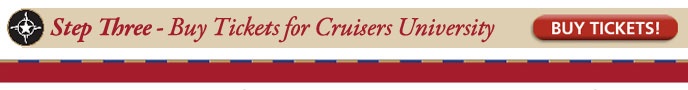 Buy Tickets to Cruisers University