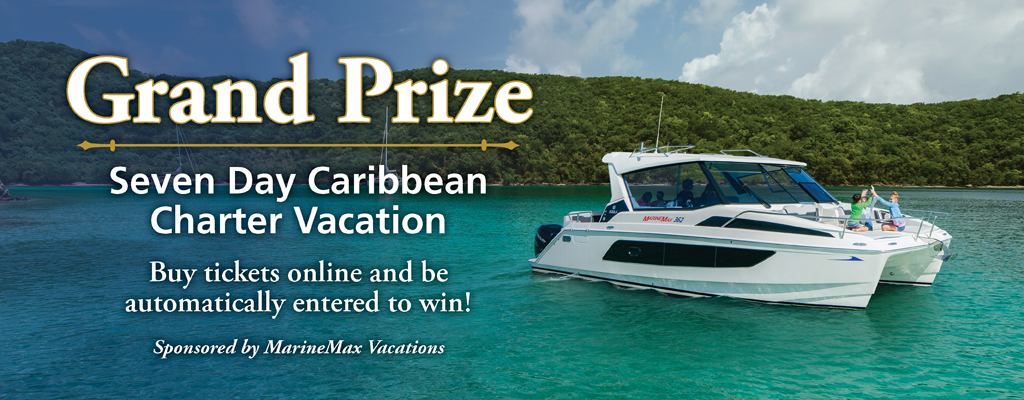 Grand Prize - Seven Day Caribbean Charter Vacation