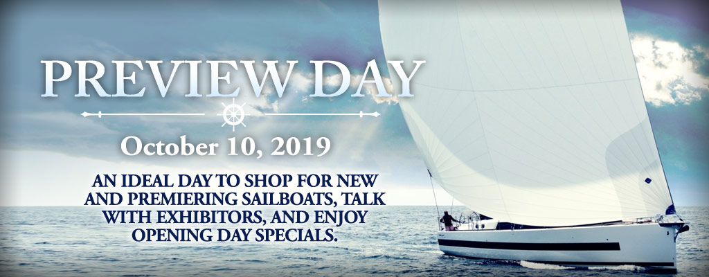 Preview Day – October 10, 2019 | Annapolis Boat Shows